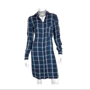 ZARA Plaid Long sleeve Dress